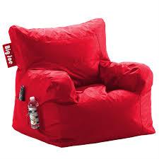 big joe dorm bean bag chair flaming red beanbags sphere chairs furniture dorm