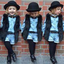 <b>New</b> fashion Kids Baby Girl Vest Winter Warm Clothes Faux Fur vest ...