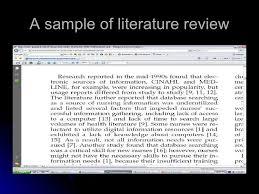 Resume Examples Example Of Thesis Statement For Literature Review     Sveti  te Gospe Sinjske