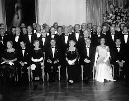 ar b president john f kennedy and first lady jacqueline ar7188 b president john f kennedy and first lady jacqueline kennedy nobel laureates at white house dinner