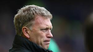 """Are you watching David Moyes?"" was the cry from the Goodison Park faithful after Everton had scored their second goal. - Everton-v-Man-United-David-Moyes_3128162"