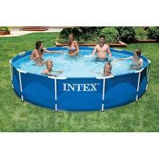 <b>Каркасный бассейн Intex 28210</b> (366х76см) - Сад и огород в ...