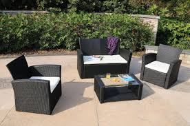 most seen gallery featured in exciting weatherproof rattan garden furniture for outdoor decoration black garden furniture