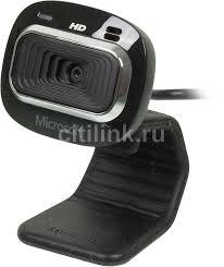 Купить <b>Web</b>-<b>камера MICROSOFT LifeCam</b> HD-3000, черный в ...