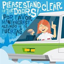 Image result for por favor manténgase alejado de las puertas