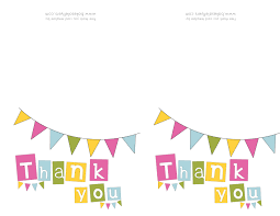 printable thank you cards bake flyers flyer designs printable thank you cards