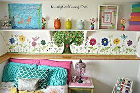 bedroom painting ideas girl murals