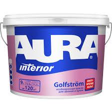 <b>Краска AURA Golfstrom</b> для кухонь и ванн, особопрочная ...