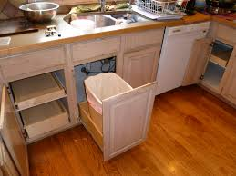 Kitchen Cabinet Garbage Drawer Pull Out Trash Can Cabinet Kitchen Recycling Amp Waste Bin For