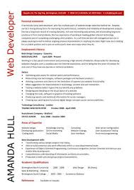 web designer cv sample  example  job description  career history    web designer cv sample