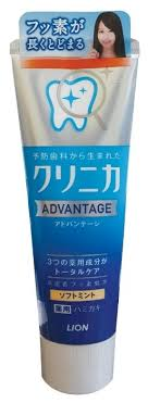 <b>Зубная паста</b> Lion Clinica Advantage <b>Мягкая</b> мята — купить по ...