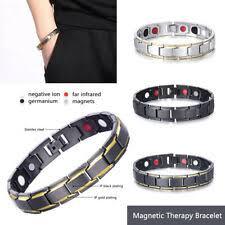 Titanium Fashion Bracelets for sale | eBay
