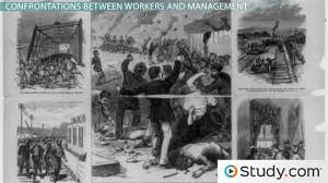 the working class during the industrial revolution growth labor unions during the second industrial revolution organized labor vs management