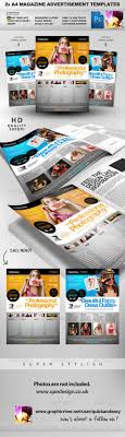 best ideas about advertisement template wedding pro services 2 a4 magazine ad templates