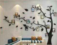 Large Black <b>3D</b> DIY Photo Tree PVC <b>Wall</b> Decals/Adhesive <b>Family</b> ...