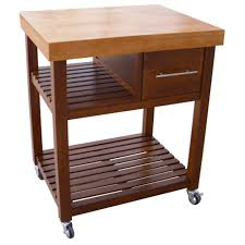 dining table with wheels: furniture brown block dining table with brown wooden shelf and drawers plus black wheels