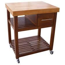 dining table with wheels: furniture brown block dining table with brown wooden shelf and drawers plus black wheels