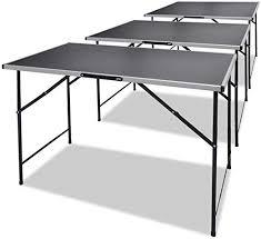 Pasting Tables 3 pcs Foldable: Kitchen & Dining - Amazon.com