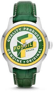 Наручные <b>часы Fossil</b> с разноцветным циферблатом ...