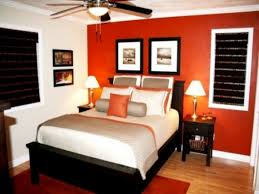 ideas bedroom orange accents bedroom with burnt orange accent wall and purple ideas