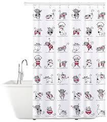 Штора для <b>ванной Tatkraft</b> Funny Cats 14022 180x180 — купить ...