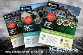 real estate flyer templates a» photoshop vector  real estate flyer templates 16562