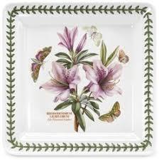 <b>Блюдо овальное 28</b> см Ботанический сад Гвоздика турецкая ...