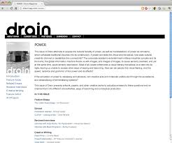 owen mundy publications i am happy to announce the launch of the new website for drain journal of contemporary art and culture and the corresponding release of issue 11 power