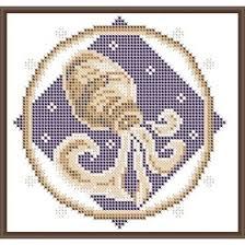 <b>Основа для вышивания с</b> нанесённым рисунком «Водолей ...