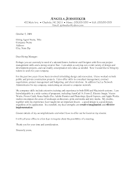 cover letter for architects template cover letter for architects