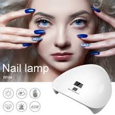 45W Led Uv Gel Nail Dryer Curing Lamp Auto Sensor Setting ... - Vova