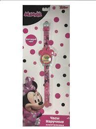 <b>Часы</b> наручные электронные <b>Disney Minnie Mouse</b> (Минни Маус ...