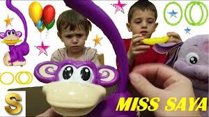 Обезьяна Чики обзор <b>игрушки</b> 2015 вместе с Саей и Лунтиком ...