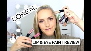<b>Loreal Infallible</b> Lipstick & <b>Eye Paint</b> Review - YouTube