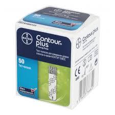 <b>Тест полоски</b> BAYER <b>Контур</b> Плюс (<b>Contour Plus</b>) №50 — купить в ...