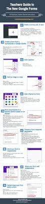 17 best ideas about google sites google docs in a handy infographic featuring 10 important new google forms tips for teachers educational technology and mobile learning