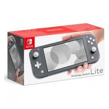 <b>Игровая приставка Nintendo</b> Switch Lite, серый — купить в ...