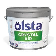 <b>Краска Olsta Crystal</b> Air База С для стен и потолков, 9 л купить