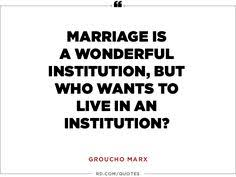 8 Funny Marriage Quotes From Some of the Greatest Wits of All Time ... via Relatably.com