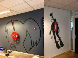 office space ideas to make more fun wall art specialtydoors amusing create design office space