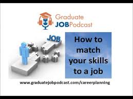 how to match your skills to a job career planning steve how to match your skills to a job career planning steve rook gjp 4