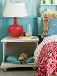 decor red blue room full: red accents in bedroom with light blue walls