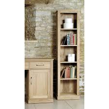 mobel oak light narrow bookcase buy online at wooden furniture store mobel solid oak dvd