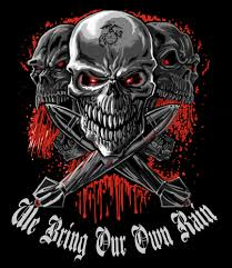us marine corps mos decals archives devil dog shirts usmc artillery we bring our own rain decal