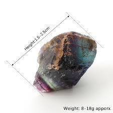 <b>1PC Natural</b> Fluorite <b>Quartz Crystal</b> Stones <b>Rough</b> Polished ...