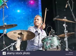 drummer darian gray of booker t jones band at the okeechobee music drummer darian gray of booker t jones band at the okeechobee music and arts festival on 3 2016 in okeechobee florida