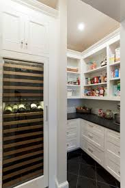 kitchen solution traditional closet: white open shelving white open shelving white open shelving