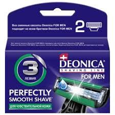 «<b>Кассеты DEONICA For Men</b> 3 лезвия 4шт.» — Результаты ...