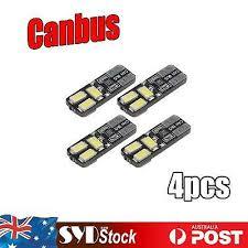<b>4 X</b> Super White 6 LED Light <b>T10</b> W5W <b>5630 SMD Canbus</b> Car Turn ...