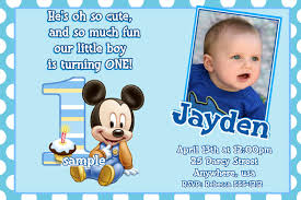 mickey mouse 1st birthday invitations hollowwoodmusic com mickey mouse 1st birthday invitations designed for a best birthday to improve pretty invitation templates printable 16